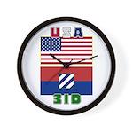 3ID USA - Wall Clock