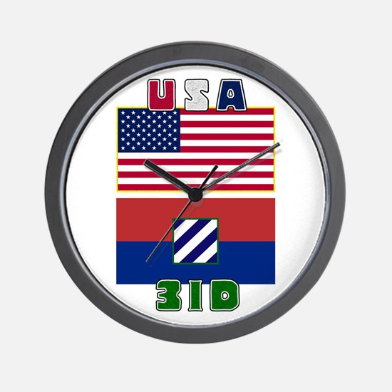 3ID USA - Wall Clock