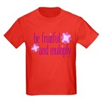 be fruitful and multiply Kids Dark T-Shirt