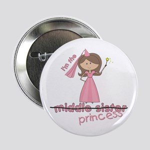 i'm the princess middle Button