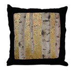 Ghosts Of Autumn Throw Pillow