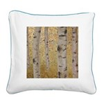 Ghosts Of Autumn Square Canvas Pillow