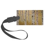 Ghosts Of Autumn Large Luggage Tag