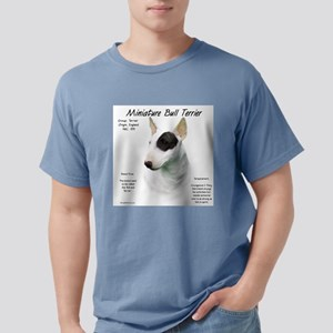 Mini Bull Terrier Mens Comfort Colors Shirt