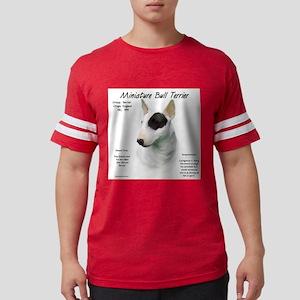 Mini Bull Terrier Mens Football Shirt