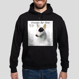 Mini Bull Terrier Hoodie (dark)