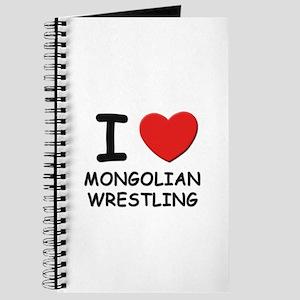 I love mongolian wrestling Journal