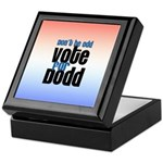Don't Be Odd Vote Dodd! Keepsake Box