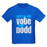 Don't Be Odd, Vote For Dodd! Kids Dark T-Shirt