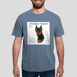 Min Pin (black & rust) Mens Comfort Colors Shirt