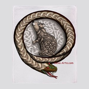 Mouse-Snake Throw Blanket