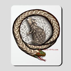 Mouse-Snake Mousepad