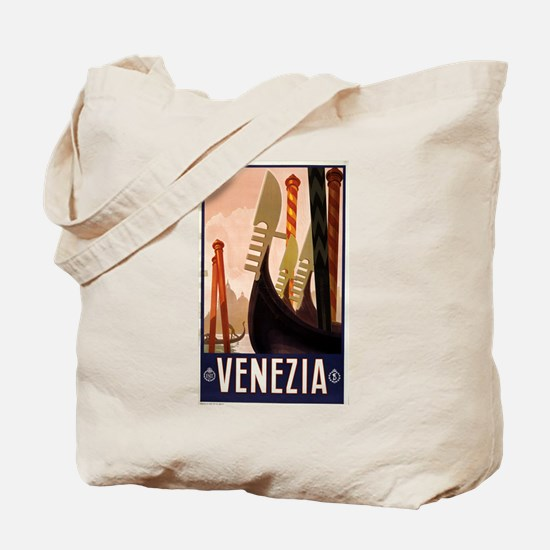 venezia - anonymous - circa 1920 - poster Tote Bag