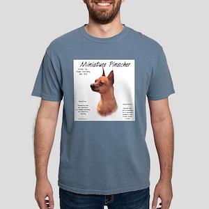 Min Pin (red/rust) Mens Comfort Colors Shirt