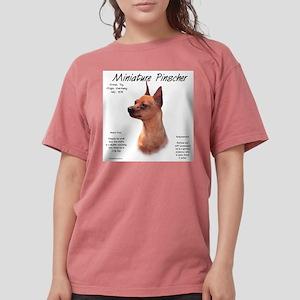 Min Pin (red/rust) Womens Comfort Colors Shirt