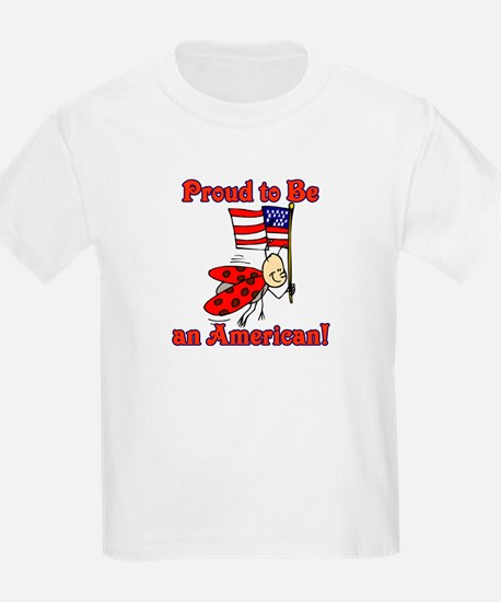 Ladybug Proud to be an American T-Shirt