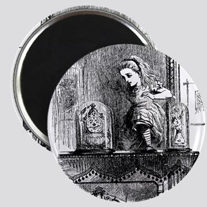 Alice through the Looking Gla Magnet