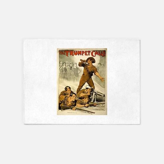 The Trumpet Calls - Norman Lindsay - Circa 1914 -