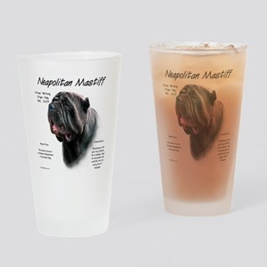 Neo Mastiff (black) Drinking Glass
