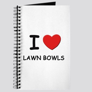 I love lawn bowls Journal