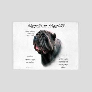 Neo Mastiff (black) 5'x7'Area Rug
