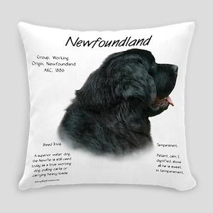 Newfoundland (black) Everyday Pillow