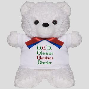 Obsessive Christmas Disorder Teddy Bear