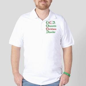 Obsessive Christmas Disorder Golf Shirt