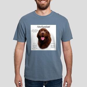 Newfoundland (brown) Mens Comfort Colors Shirt