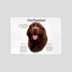 Newfoundland (brown) 5'x7'Area Rug