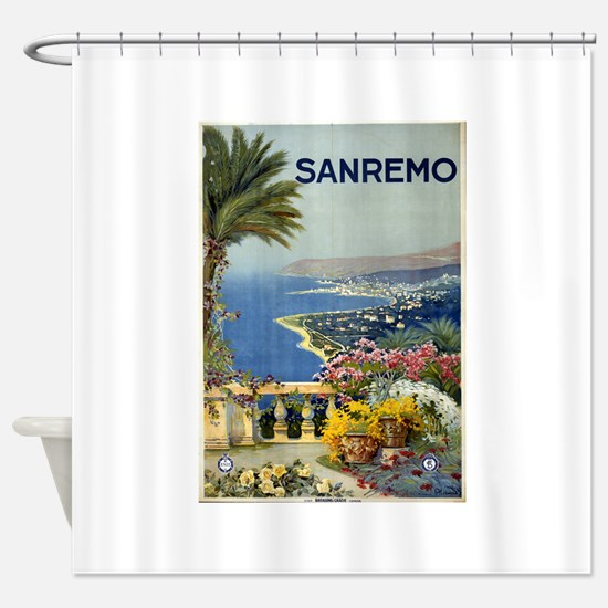 sanremo - anonymous - circa 1920 - poster Shower C