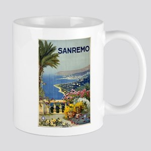 sanremo - anonymous - circa 1920 - poster Mugs