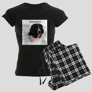 Newf (Landseer) Women's Dark Pajamas
