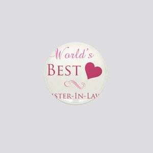 Worlds Best Sister-In-Law Mini Button