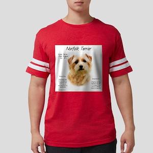 Norfolk Terrier Mens Football Shirt