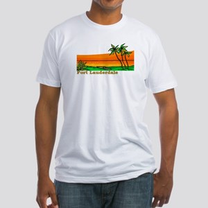 Fort Lauderdale, Florida Fitted T-Shirt