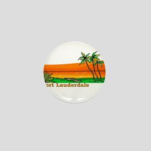 Fort Lauderdale, Florida Mini Button