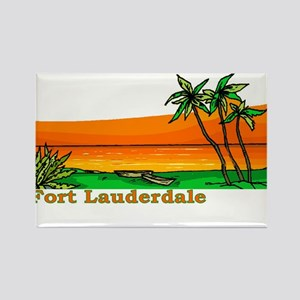 Fort Lauderdale, Florida Rectangle Magnet