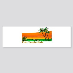 Fort Lauderdale, Florida Bumper Sticker