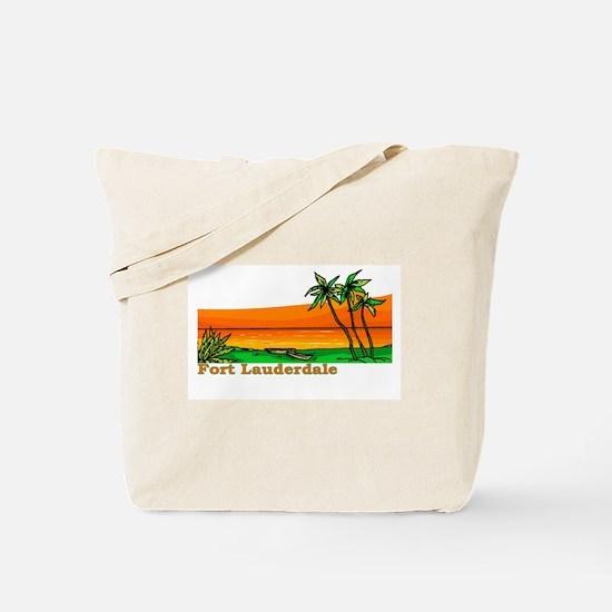 Fort Lauderdale, Florida Tote Bag