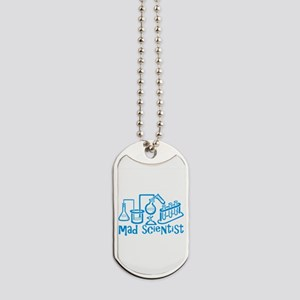 Mad Scientist Dog Tags