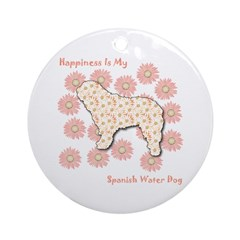 SWD Happiness Ornament (Round)