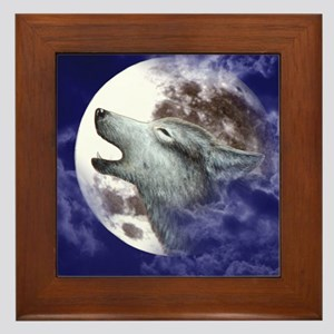 iPad 3 Folio_Moon Wolf Framed Tile