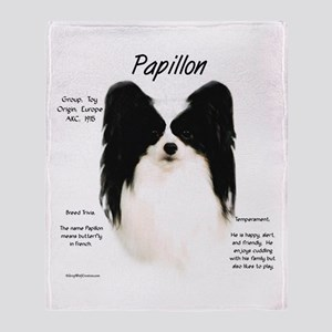 Papillon Throw Blanket