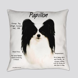 Papillon Everyday Pillow