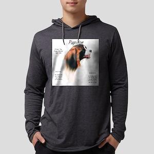 Phalene Pap Mens Hooded Shirt