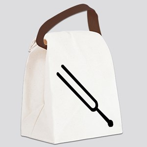 Tuning fork Canvas Lunch Bag