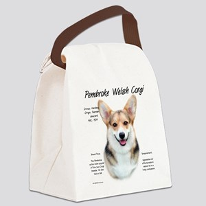 Pembroke Corgi Canvas Lunch Bag