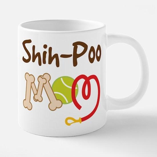 Shih-Poo Dog Mom Mugs