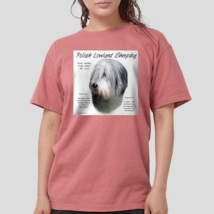 Polish Lowland Sheepdo Womens Comfort Colors Shirt